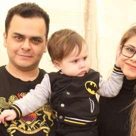 Mr and Mrs Adnan Parvez